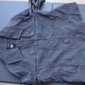 Sandro denim jacket Medium ladies